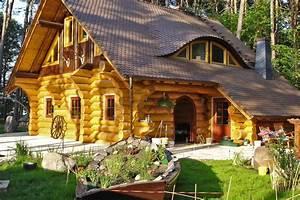 Blockhaus Am See : ein traditionelles naturstammhaus blockhaus nach kanadischer bauart von team kanadablockhaus ~ Frokenaadalensverden.com Haus und Dekorationen