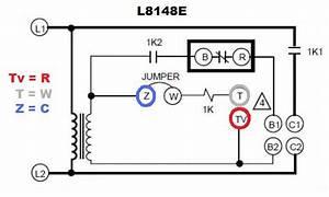 Honeywell Aquastat L8148e Voltage