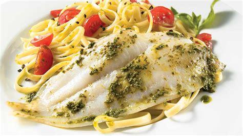 cuisiner filet de sole filet de sole au pesto recettes iga poisson basilic