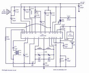Cxa1019 Fm Receiver Circuitelectronics Project Circuts