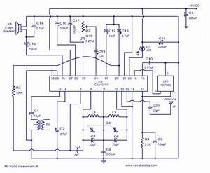 Am Superheterodyne Radio Circuit Diagram  Am  Free Engine