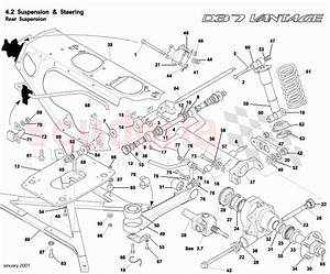Aston Martin Db7 Vantage Rear Suspension Parts