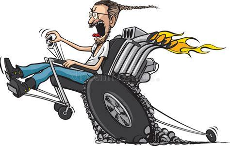 Wheelie Chair Stock Vector. Illustration Of Wheelie