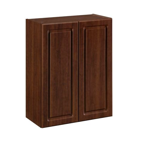 Pre Made Cabinet Doors Home Depot by Heartland Cabinetry 24 In X 30 In 2 Door Wall Cabinet In