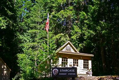 Staircase Olympic National Park Ranger Station Peninsula