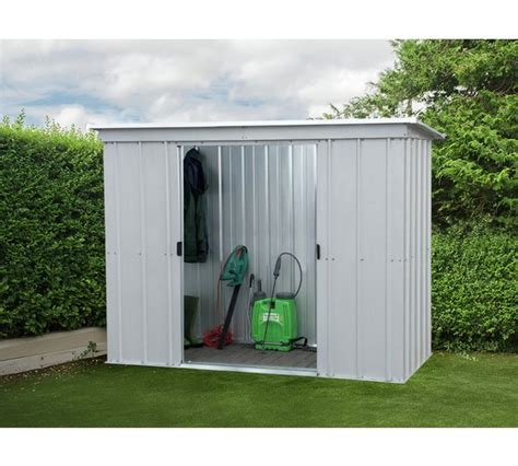 sheds at argos buy yardmaster 6 x 4 pent metal shed at argos co uk your