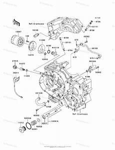 Kawasaki Motorcycle 2006 Oem Parts Diagram For Oil Filter