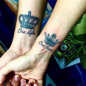 Tatouage Amour éternel : magazine top 15 des tatouages roi et reine allotattoo ~ Melissatoandfro.com Idées de Décoration