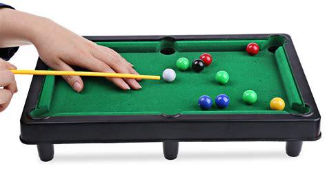 Mini Size Billiard Ball Snooker Pool Table Top Fun Game