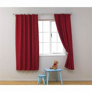 Red Curtains For Bedroom - Home Ideas