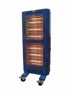 Broughton Rg9 9kw Carbon Fibre Quartz Electric Heater 16