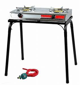 Portable Propane Gas Gasoline lpg stainless Stove Stand ...