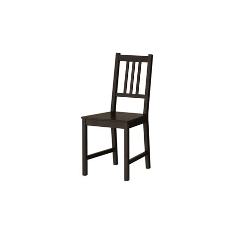 ikea chair stefan solid wood kitchen chair dining room ebay