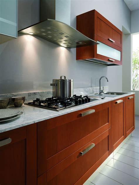 cuisine four a bois cuisine bois naturel moderne maison moderne