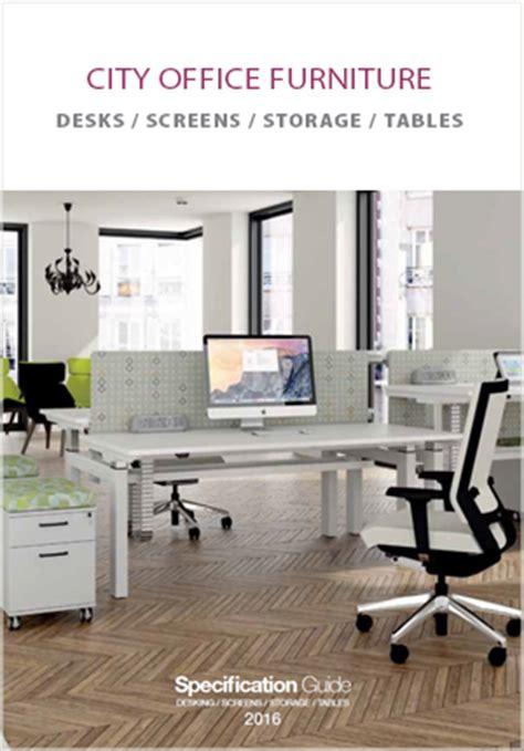 the city desk company city office furniture brochure city office furniture