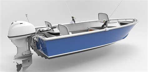 Fishing Boat Kits by 14 Foot 4 3m Skiff Sport Fish Metal Boat Kits
