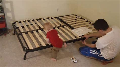 Montage Futon Ikea by Putting Together The Lycksele Ikea Futon Sofa Bed
