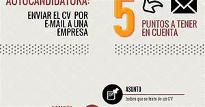 Autocandidatura  Enviar El Curr U00edculum Por E
