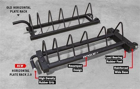 rogue horizontal plate rack  bumper storage rogue fitness  imagens equipamentos de