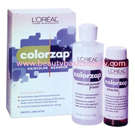 loreal hair color remover l oreal colorzap hair color remover lorealhair skin