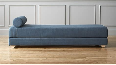 size corner lounge bed lubi blue daybed sleeper cb2