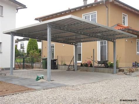 carport aus stahlkonstruktion exklusive stahl carport designs hochklassig und individuell vom profi