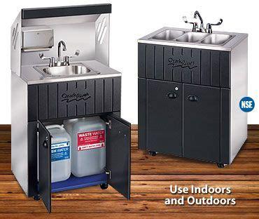 mobile kitchen sink best 25 portable sink ideas on 4183