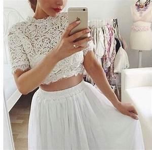 white skirt on Tumblr
