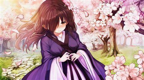 Anime Girl with Umbrella