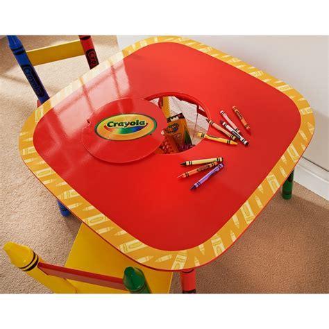 Crayola Kids Table & Chairs Set 3pc   Kids Furniture   B&M