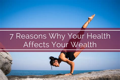 7 Reasons Why Your Health Affects Your Wealth  Bank Of