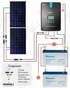 400 Watt Solar Panel Wiring Diagram  U0026 Kit List