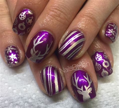 day  reindeer games nail art nails magazine