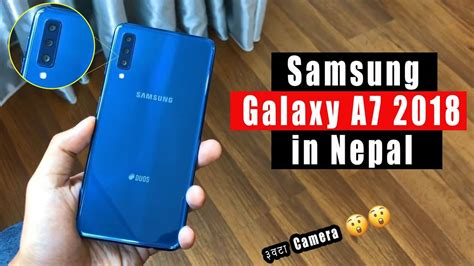 nepali samsung galaxy a7 2018 specs features and price