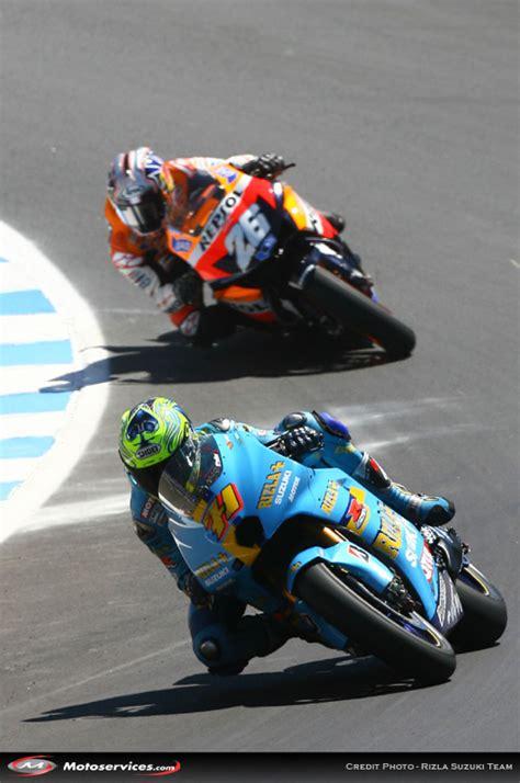 quelques du grand prix motogp des etats unis 2007 sur le circuit de laguna seca