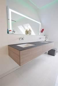 Uhr Für Badezimmer : damit der badspiegel passend zur waschtischanlage von alape unter der dachschr ge passt wurde ~ Orissabook.com Haus und Dekorationen