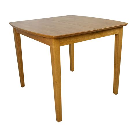 unknown solid wood extension dining table tables