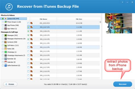 backup photos from iphone how to extract photos from iphone backup free
