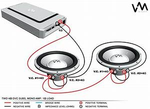 1 Ohm Sub Wiring Diagram Blogs Throughout Dual  With Images