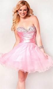 Short Pink Prom Dresses | All Dress
