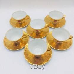 foto de Vintage Tea Set Gold Plated Bareuther Waldsassen Bavaria