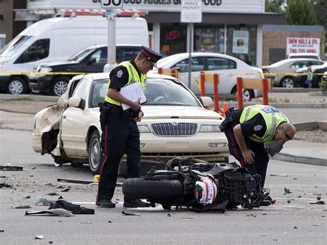 Motorcyclist Killed In Crash Near