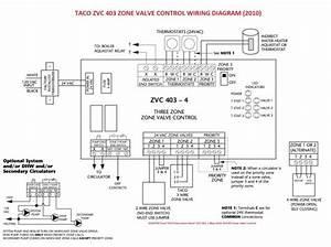 Taco Zone Valve Wiring Diagram 555 24 Volt