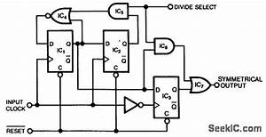 Divide By 2 Or 3 Circuit - Basic Circuit