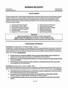Career objective for social worker resume resume ideas for Career objective social worker resume
