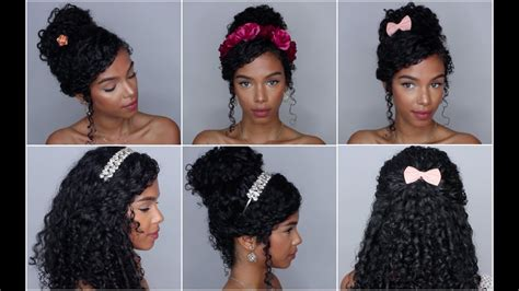 easy hairstyles  accessories vol  youtube
