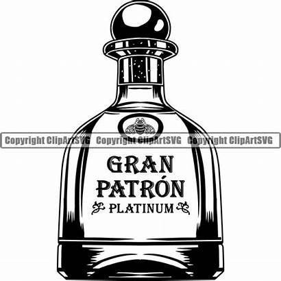 Svg Bottle Alcohol Liquor Drinking Drink Clipart