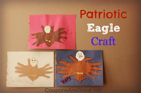 patriotic eagle craft perfect educational activity