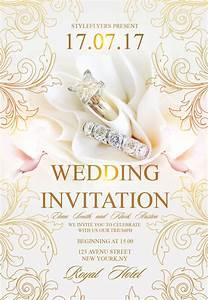 freepsdflyer download free wedding flyer psd templates With wedding invitation tree psd