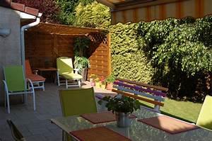 AMENAGEMENT TERRASSE (photo 1/8) Couleurs acidulées pour ma terrasse en